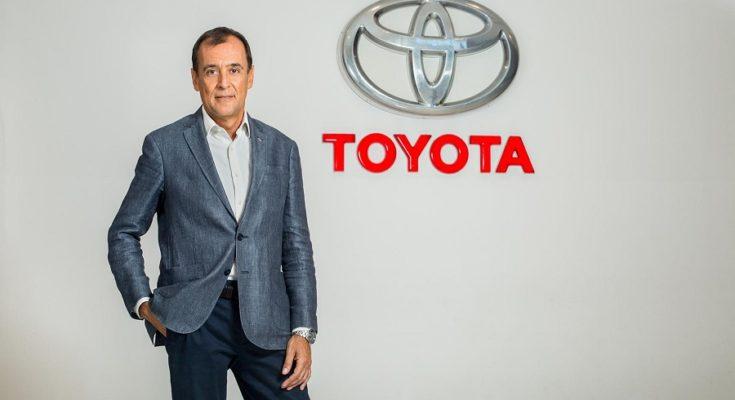 Diego Prado. Foto: Toyota Argentina